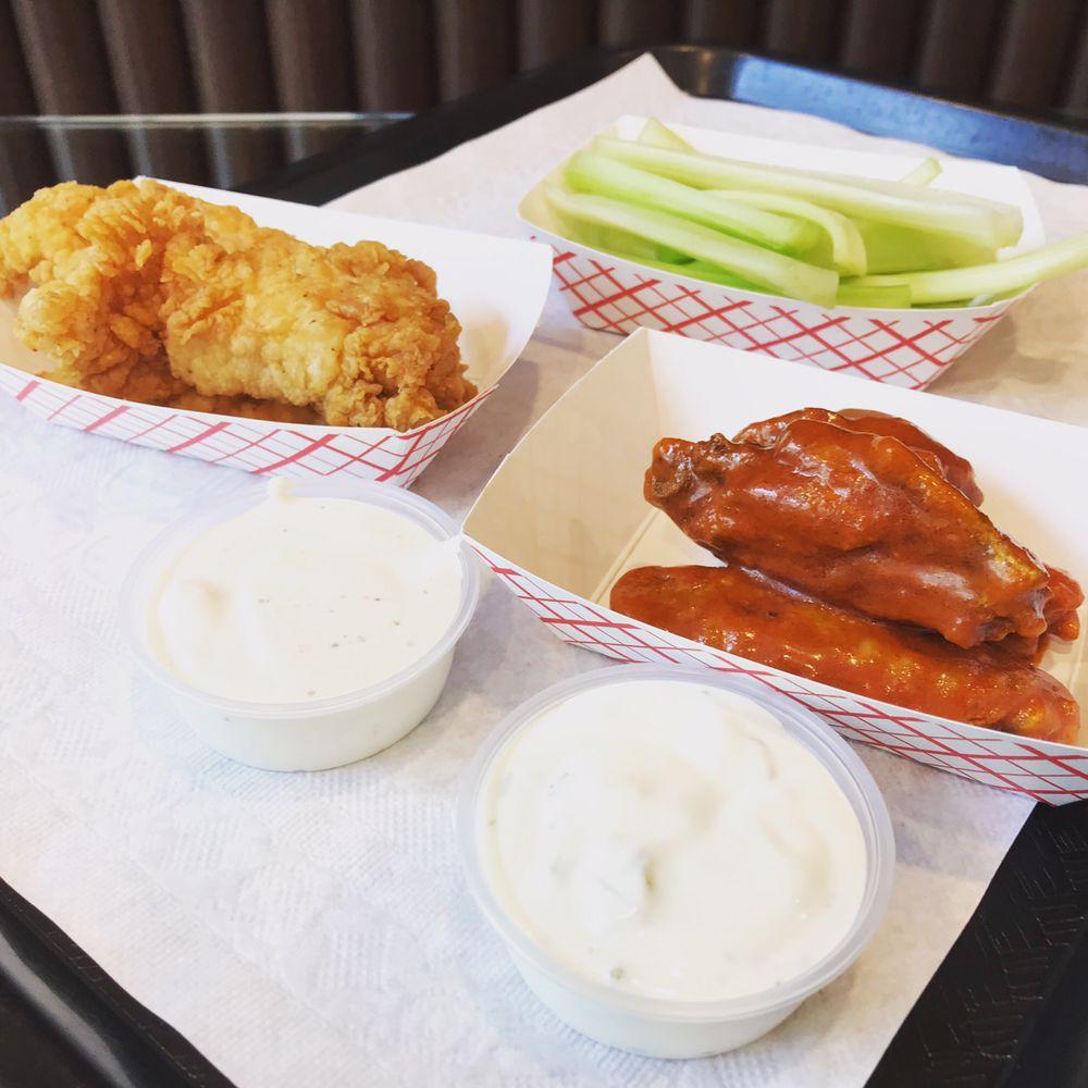 Rock's Chicken & Fries: 3500 Peachtree Rd, Atlanta, GA
