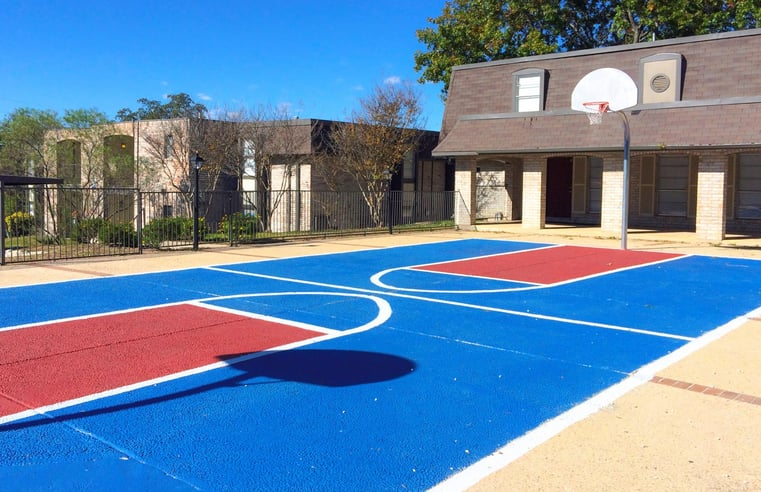 Basketball court at somerset apartments studio 1 2 3 - 4 bedroom apartments san antonio tx ...