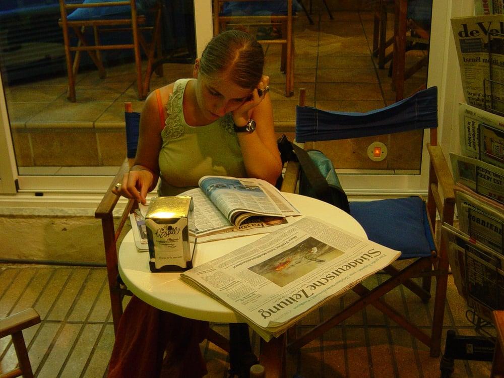 Cafe Llibreria L'Espill: Calle la Mar, 39, Altea, A