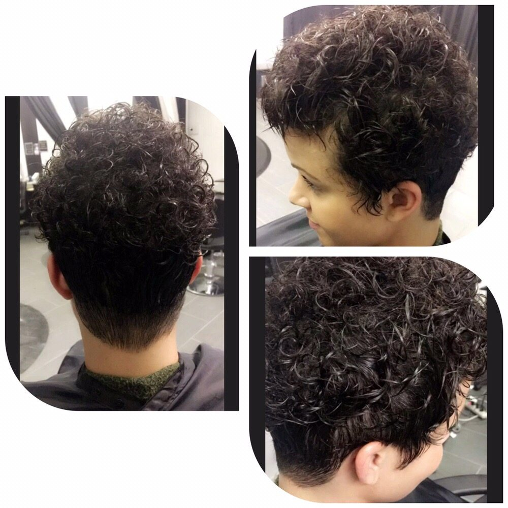 Natural Client Haircut Tapered Tight Around Nape And Sides Yelp