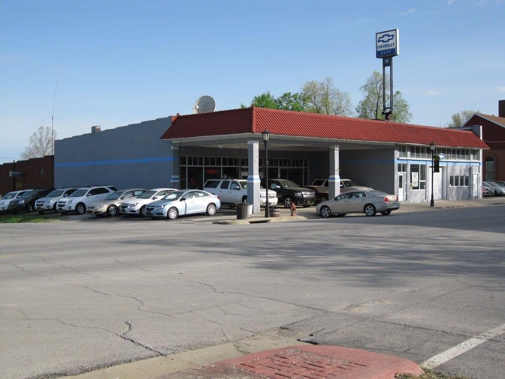 Cupp Chevrolet: 301 N Kansas Ave, Marceline, MO