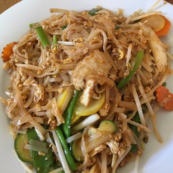 Thai Grille - Westerville, OH, United States. classic Chicken Pad Thai ...