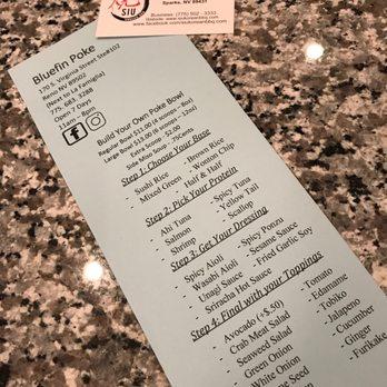 Bluefin poke 49 photos 46 reviews poke 170 s for Fish me poke menu