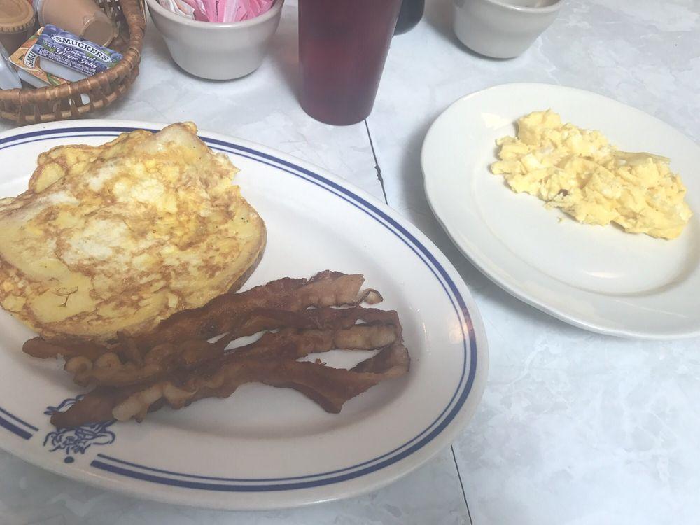 Food from The Cascade Inn
