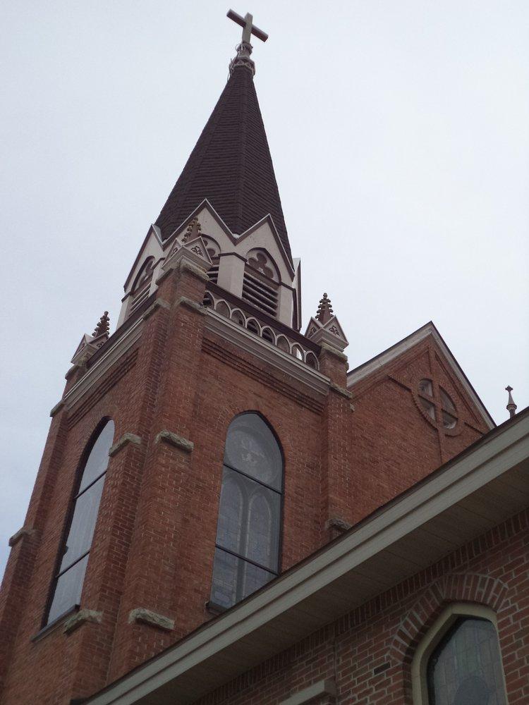 Precious Blood Catholic Church: S306 Bluff St, Stephenson, MI