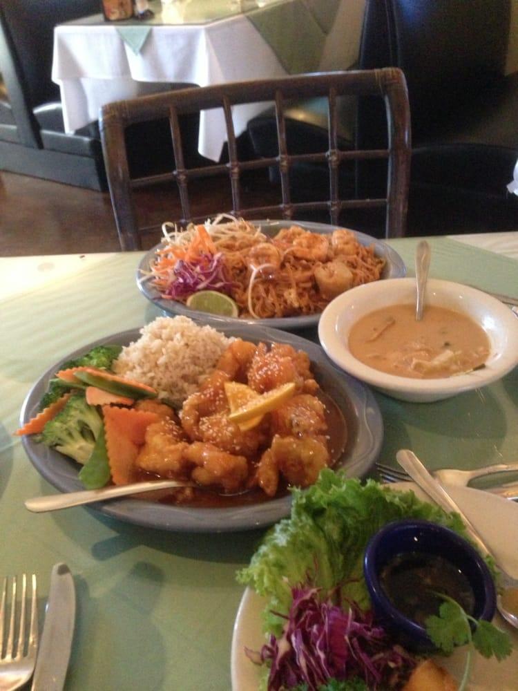 orange seafood pad thai shrimp coconut soup yelp. Black Bedroom Furniture Sets. Home Design Ideas