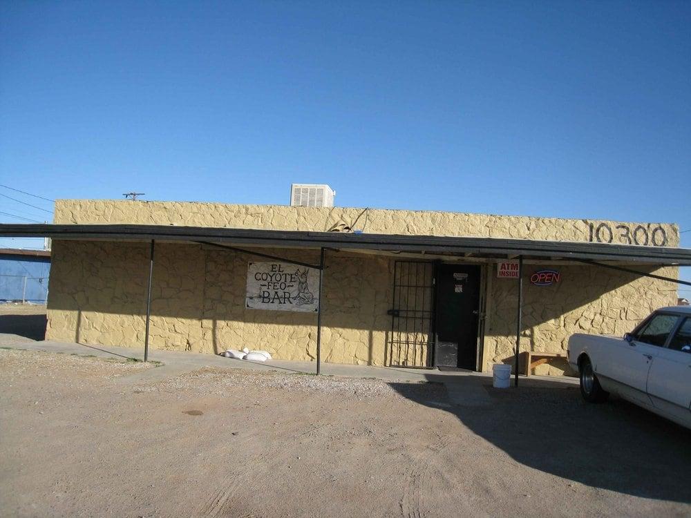 El Coyote Feo Bar: 10300 Dyer St, El Paso, TX