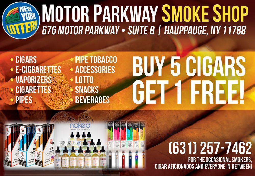 Motor Parkway Smoke Shop: 676 Motor Pkwy, Hauppauge, NY