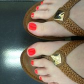 Photo Of Nail Fashions Myrtle Beach Sc United States The Perfect Pedicure
