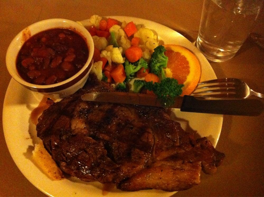 Brandin' Iron Steakhouse: 939 E Main St, Pine Valley, UT