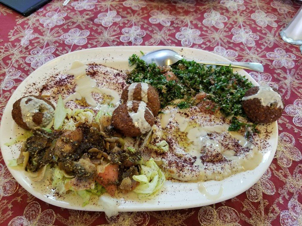 Food from Casablanca Grill