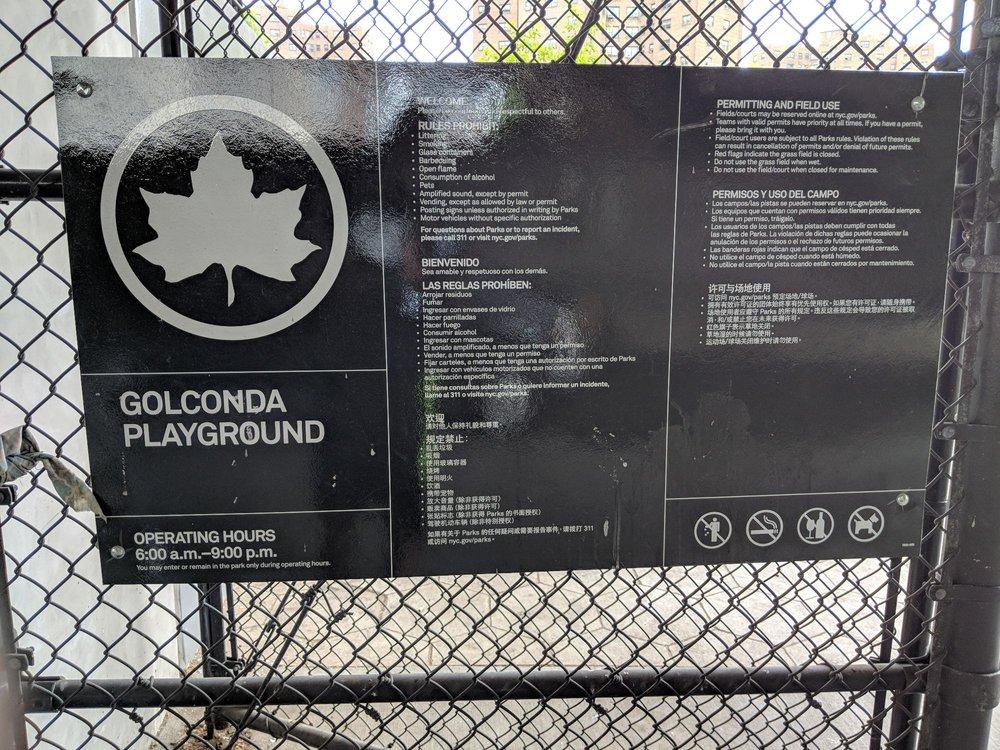 Golconda Playground: 225 gold st, Brooklyn, NY