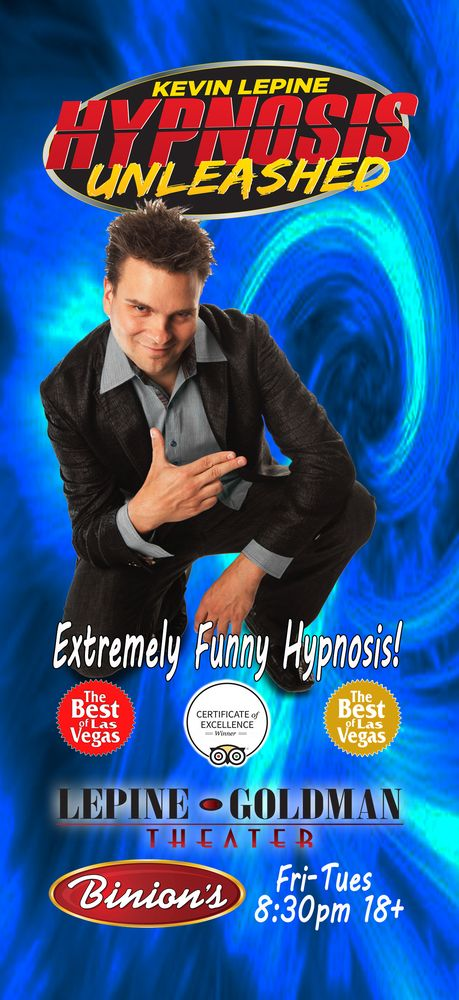 Hypnosis Unleashed Starring Kevin Lepine