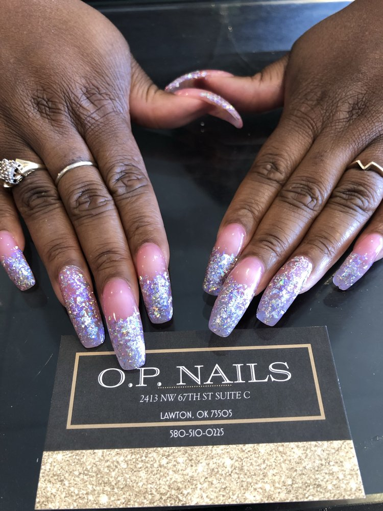 O P Nails: 2413 NW 67th St, Lawton, OK