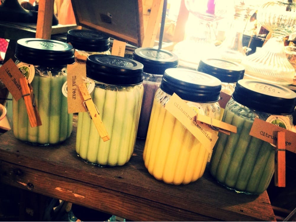 LOVE the clean burning Swan Creek Soy Candles! (Sage & citrus