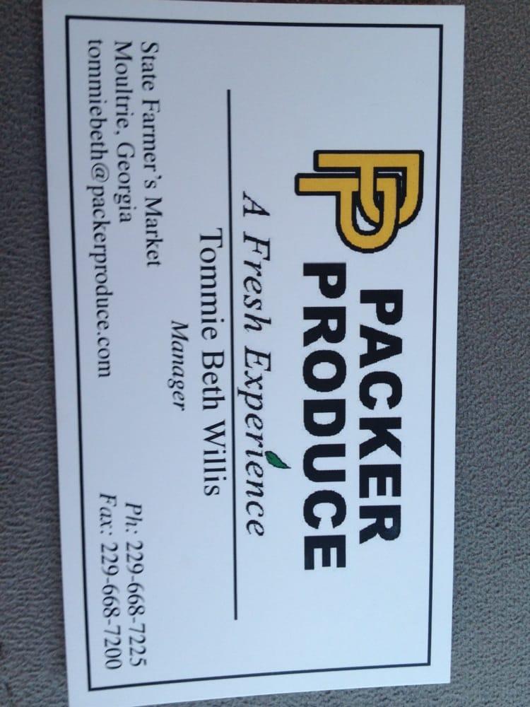 Packer Produce: 1609 1st Ave SE, Moultrie, GA