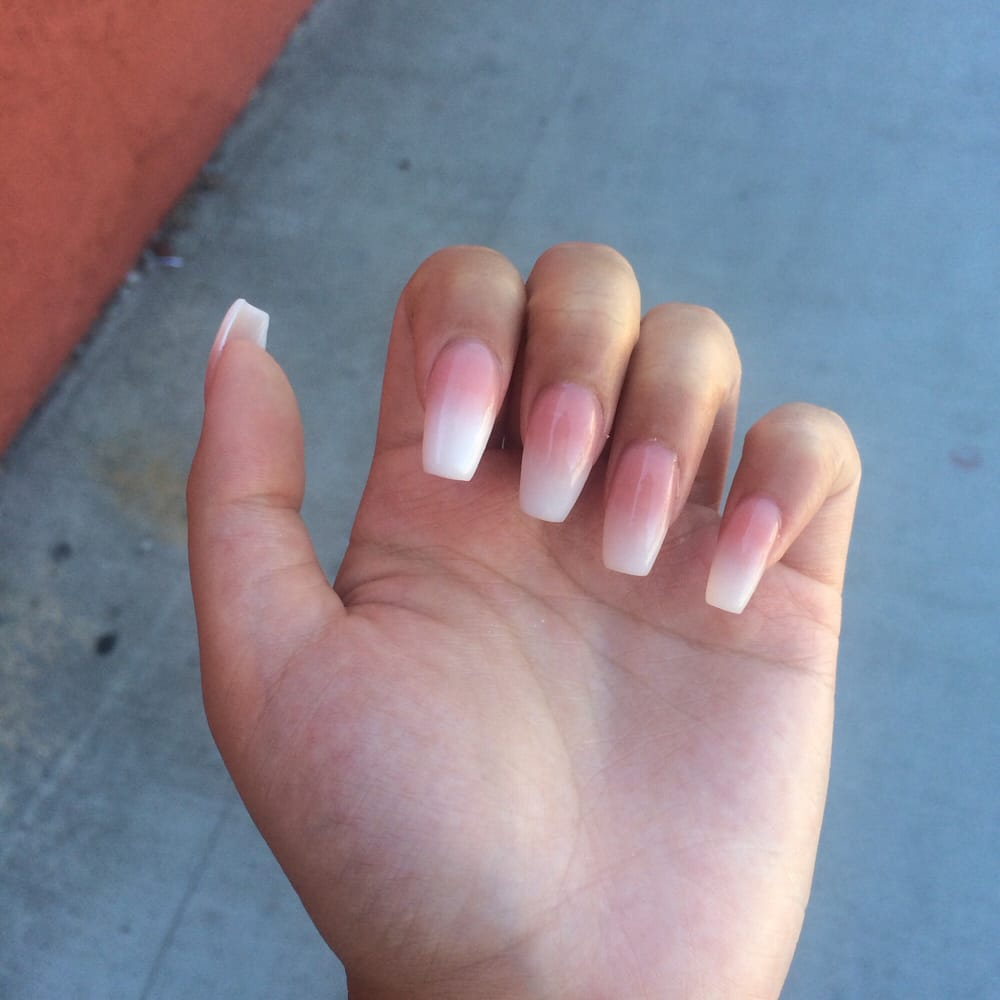 Gel ombré powdered nails for only $25! - Yelp