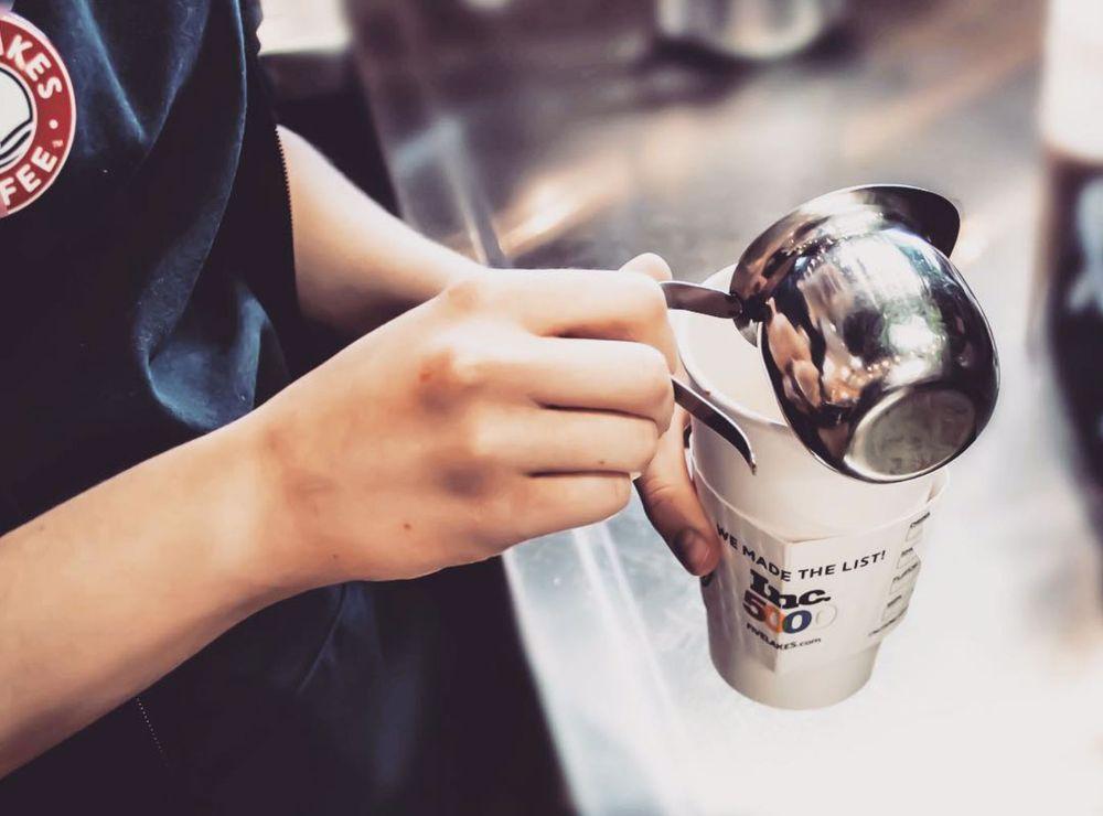 Five Lakes Coffee: 6405 B Dr N, Battle Creek, MI