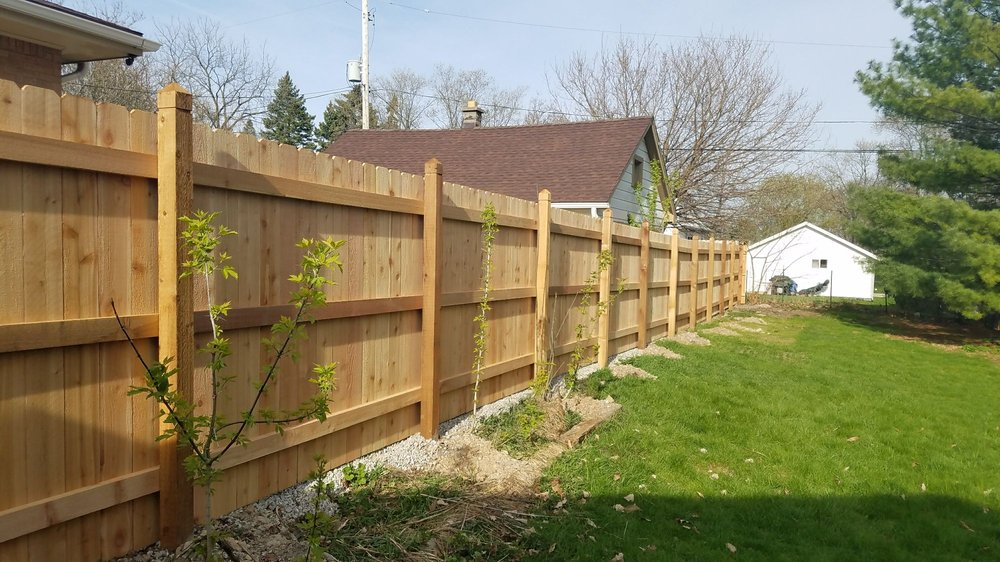 Clover Fence: 5665 S Martin Rd, New Berlin, WI