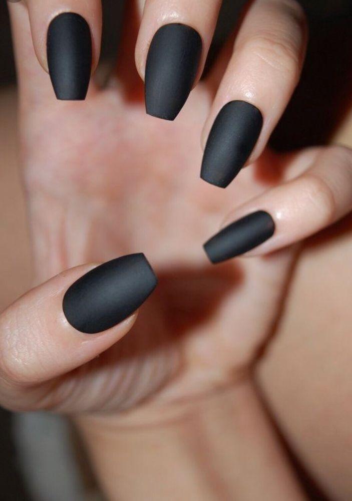 Matt black nail - Yelp