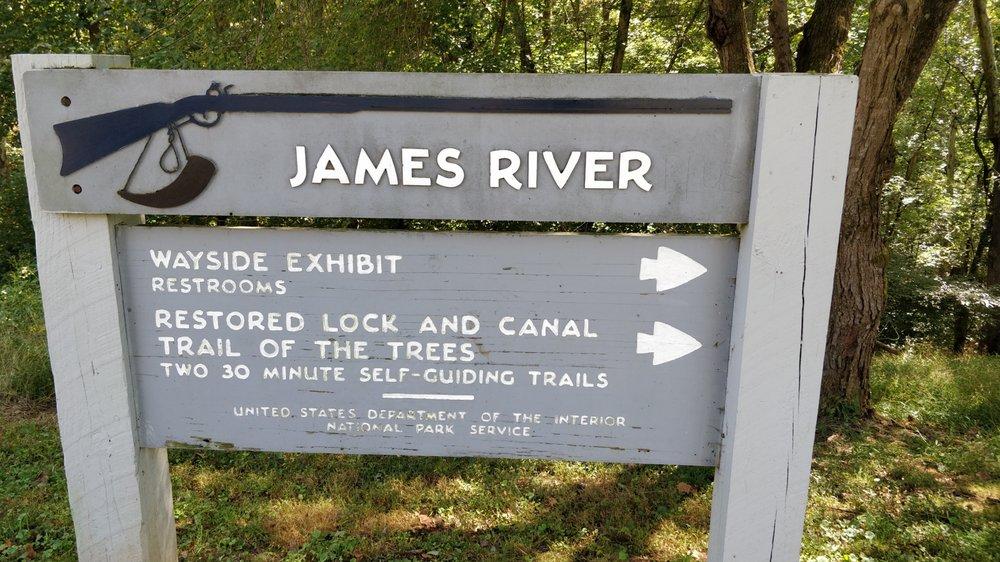 James River Visitors Center: 636 Blue Ridge Pkwy, Monroe, VA
