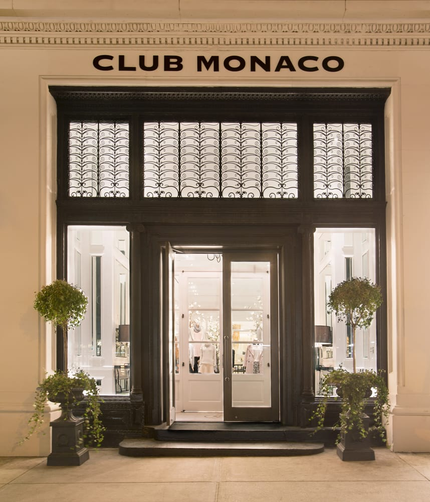 Club Monaco is an international retail brand that designs and creates modern yet timeless clothing and accessories for women and men. Since its first store o Views: