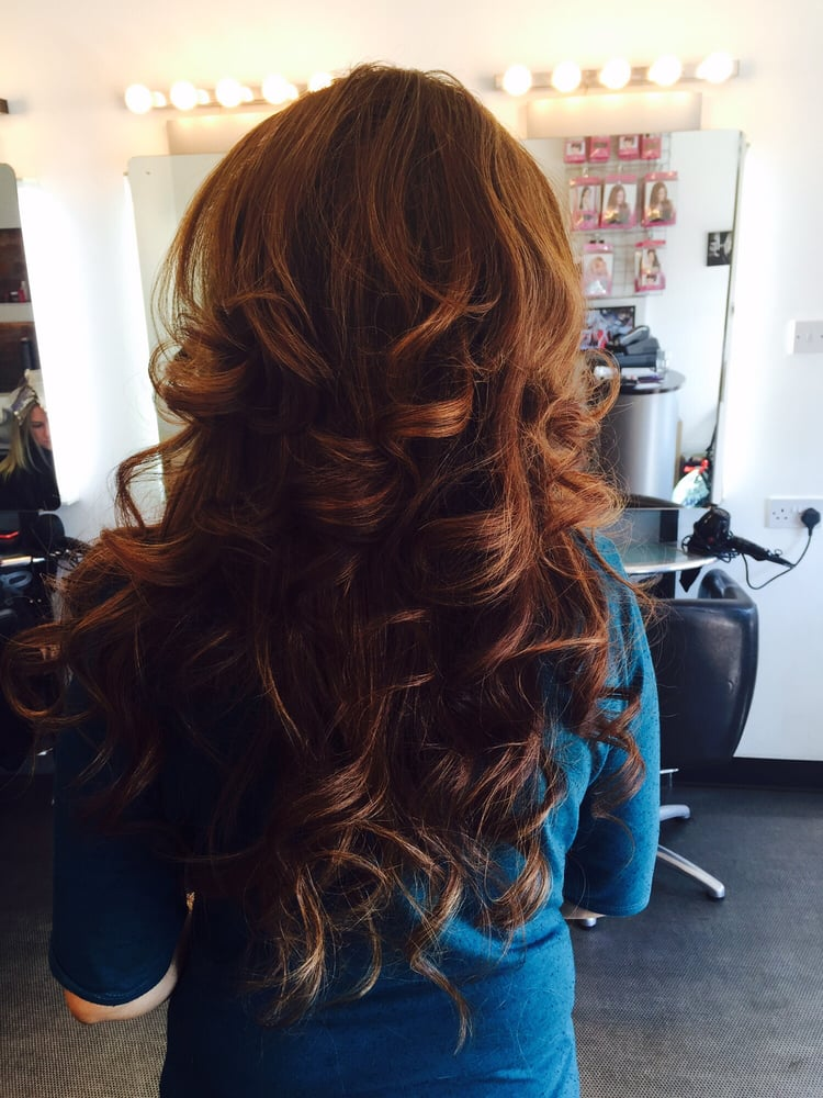 Big Bouncy Blow Dry Backcombed At The Crown Yelp