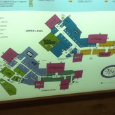 Galleria Stores Map on