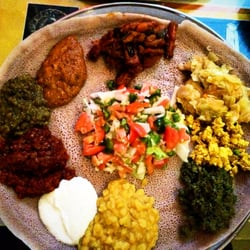 Photo Of Lucy Ethiopian Restaurant Silver Spring Md United States The Vegetarian