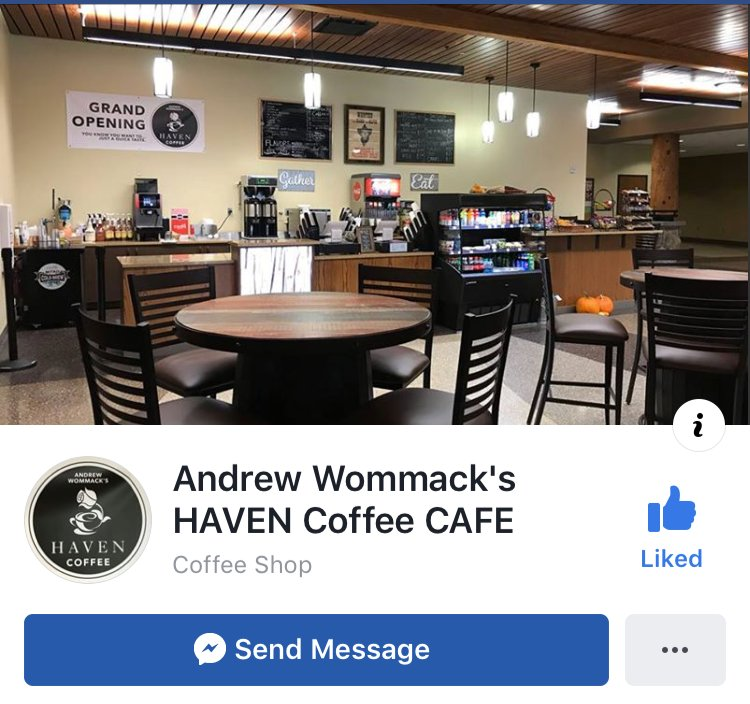 The Haven Cafe: 800 Gospel Truth Way, Woodland Park, CO