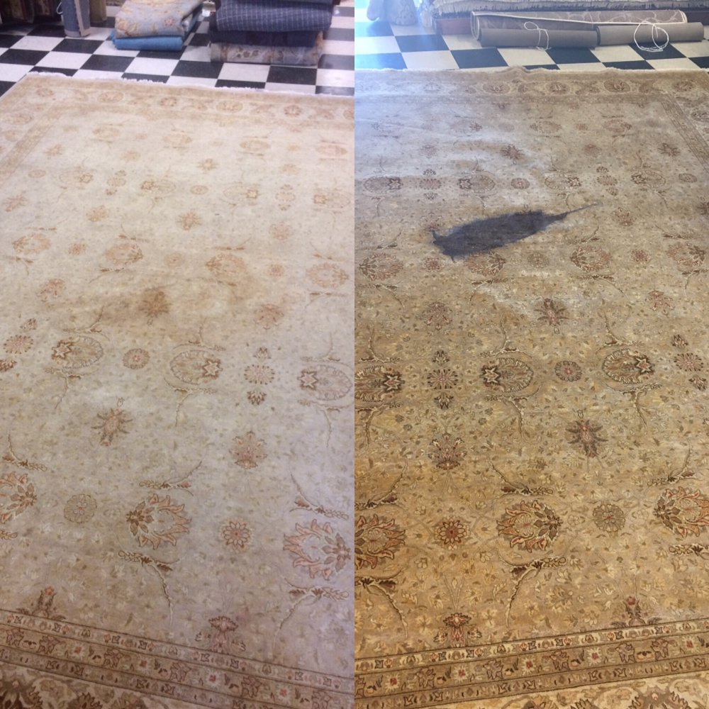 Old Wine Stain Removed With Rug Mall Cleaning Service Yelp