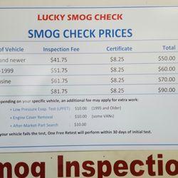 Smog Check Prices Near Me >> Lucky Smog Check 12 Reviews Smog Check Stations 5742 Orange