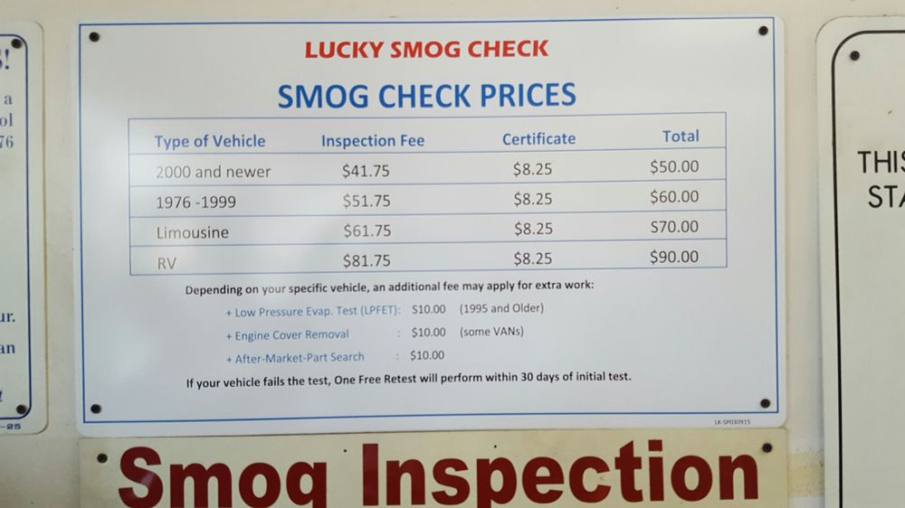 photos for lucky smog check yelp. Black Bedroom Furniture Sets. Home Design Ideas