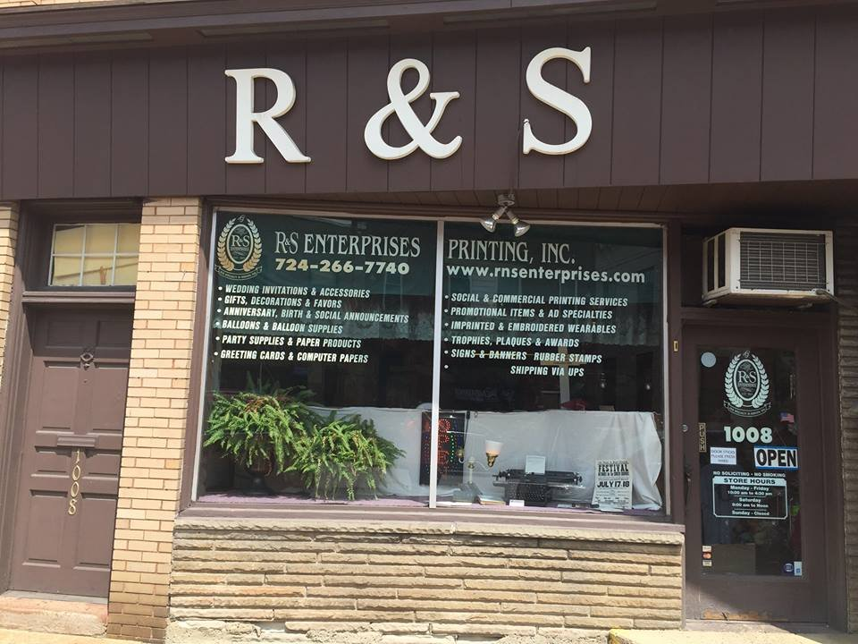R & S Enterprises Printing: 1008 Merchant St, Ambridge, PA