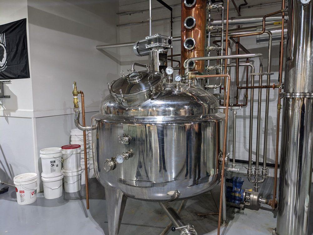 Weldon Mills Distillery: 100 Rockfish Dr, Weldon, NC