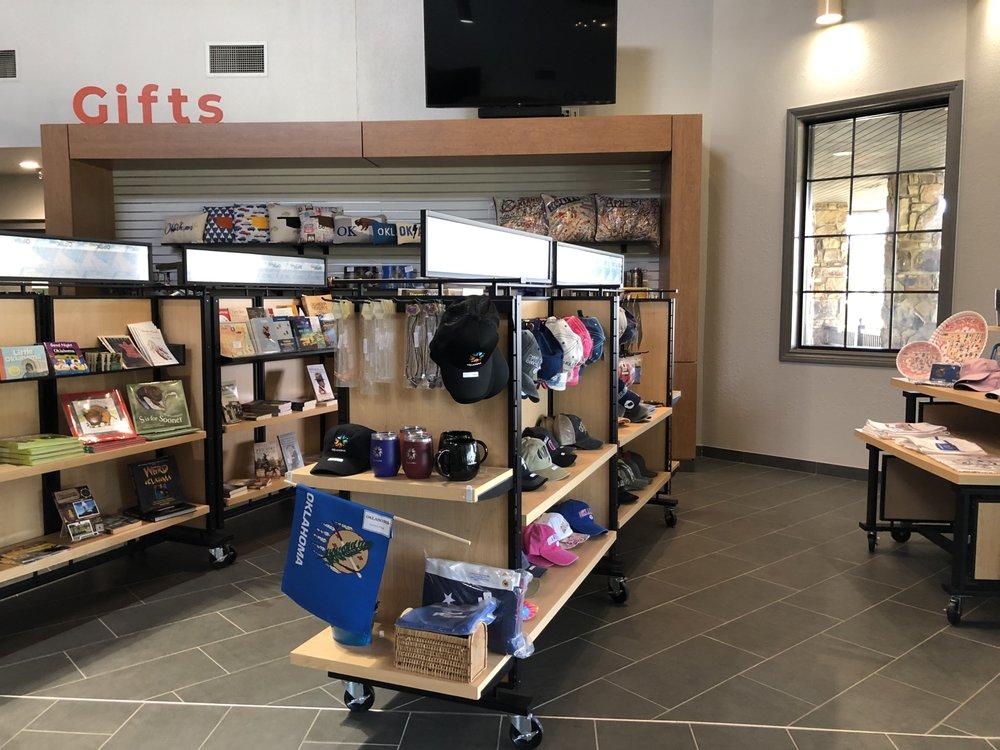Oklahoma Tourism Information Center: I-40 Westbound, Gans, OK