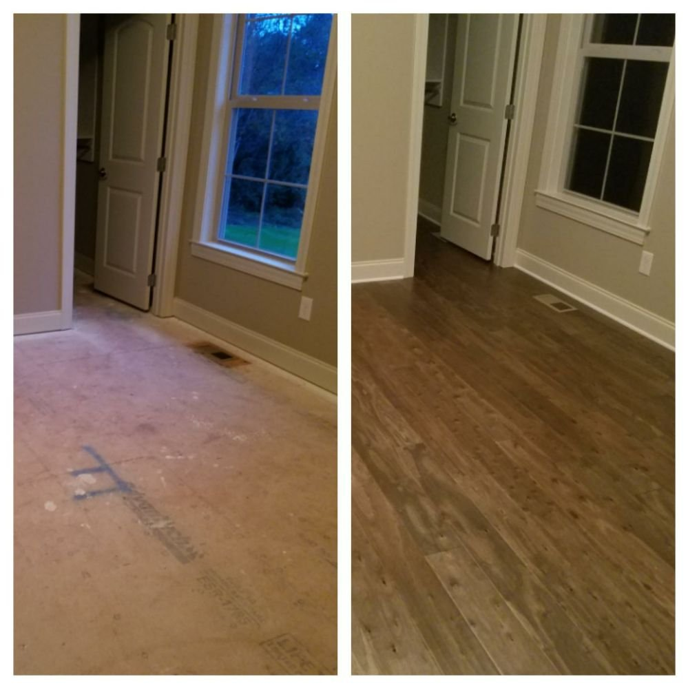 Before and after yelp for Hardwood floors knoxville