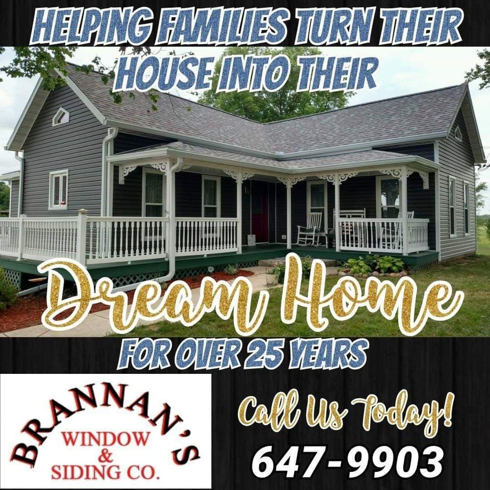 Brannan's Window & Siding: 1126 S 5th Ave, Canton, IL