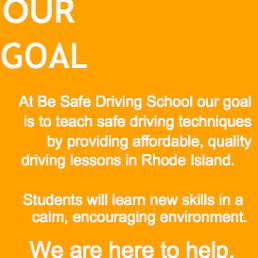 Be Safe Driving School Driving Schools Barrington Ri Phone