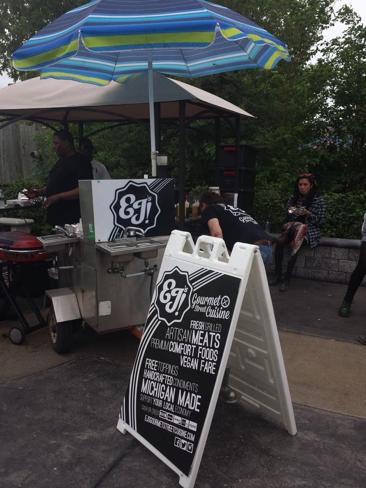 EJ's Gourmet Street Cuisine: 530 E Liberty St, Detroit, MI