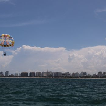 Photo Of South Beach Parasail Miami Fl United States From The