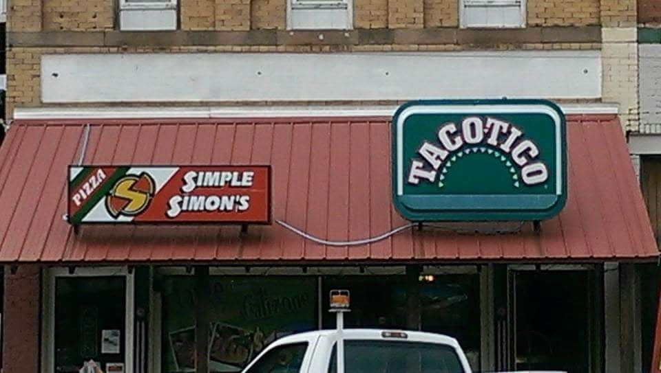 Simple Simons Taco Tico: 109 N Main St, Medicine Lodge, KS
