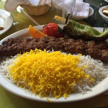 Shamshiri Restaurant Los Angeles Menu