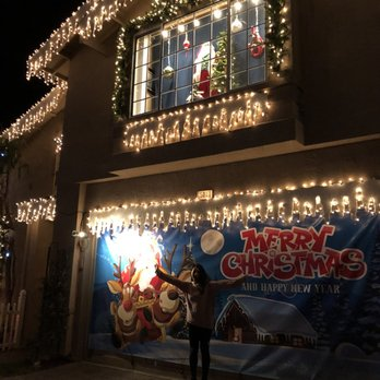 Photo of Chestnut Christmas Lit Houses - South San Francisco, CA, United States