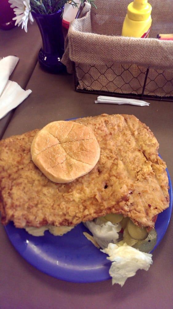 Photo of Lunch Box Cafe - Fort Wayne IN United States. Pork tenderloin & Pork tenderloin sandwich - Yelp Aboutintivar.Com