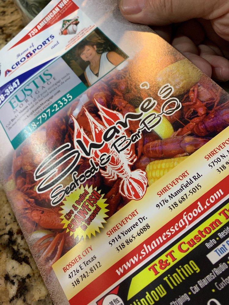 Shane's Seafood & BBQ: 5750 N Market St, Shreveport, LA