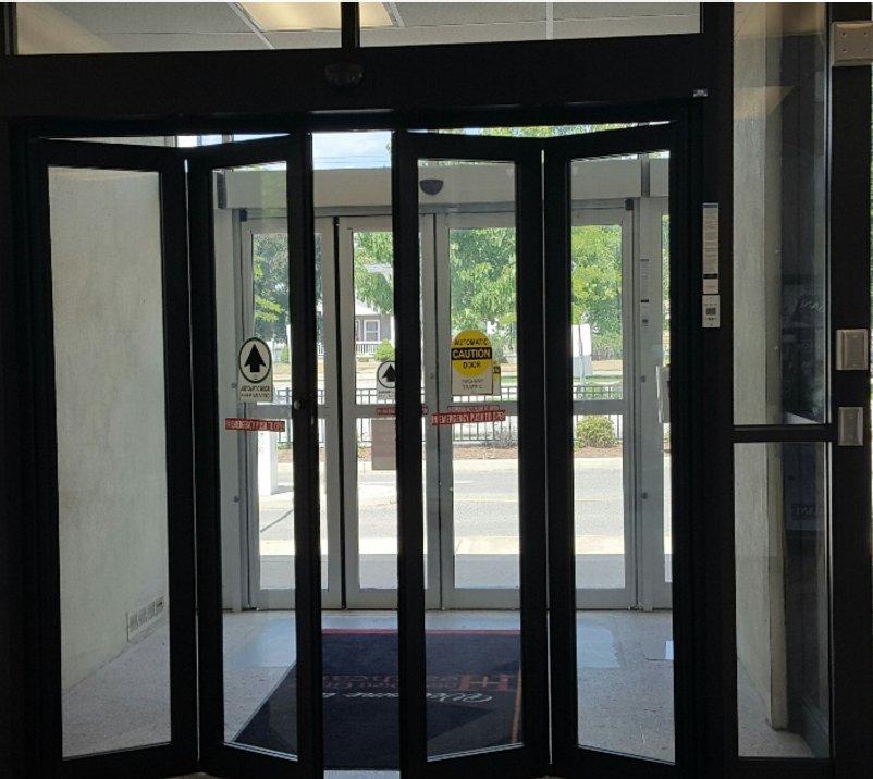 Photo of Automatic Door Doctors - Parker CO United States. Glass-Aluminum & Glass-Aluminum Vestibules with Automatic Folding Doors - Yelp
