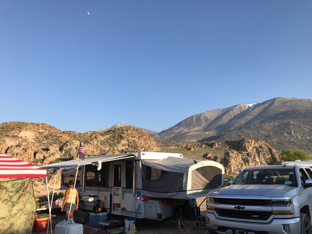 Crowley Lake Fish Camp: 1149 S Landing Rd, Mammoth Lakes, CA