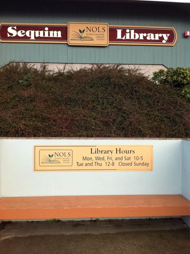 North Olympic Library System: 630 N Sequim Ave, Sequim, WA