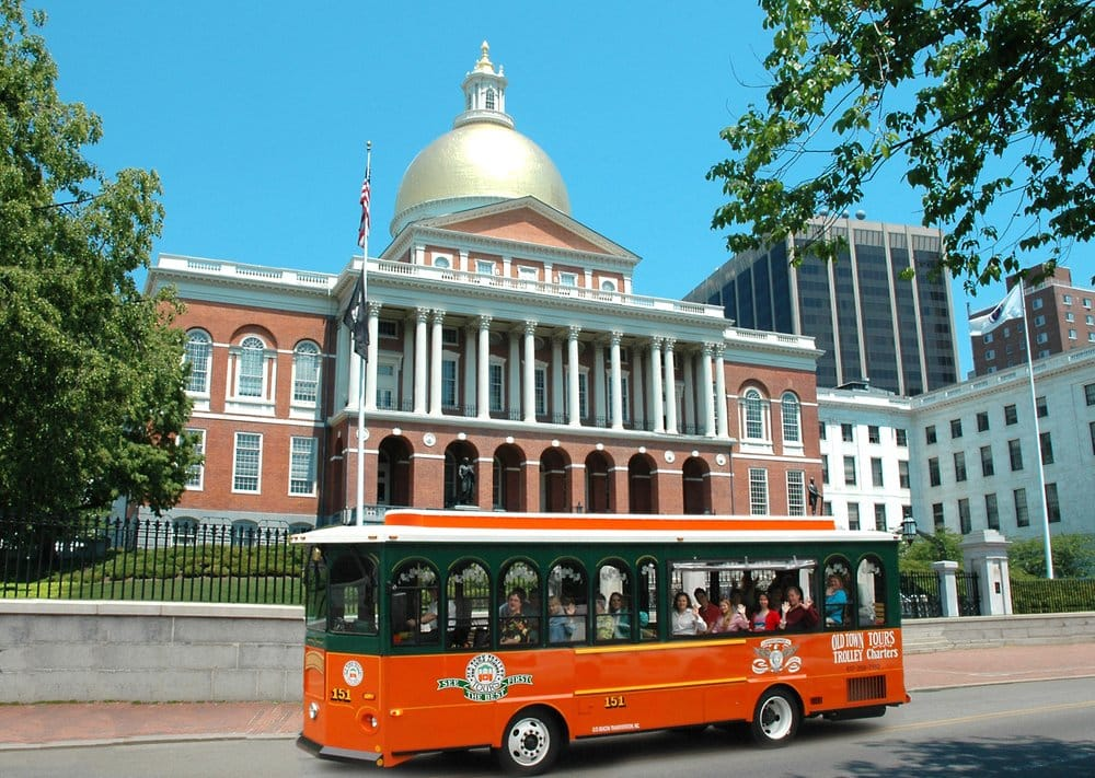 Old Town Trolley Tours of Boston
